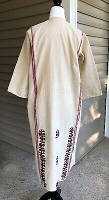 Womens Greek Costumes (Greek Folk Dress from Woman's National Costume, Handwoven Cotton, Floral)