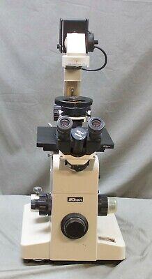 Nikon Diaphot Microscope W 3 Objectives  R15