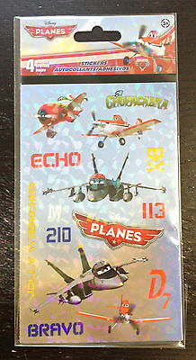 4 Sheets Disney Planes Stickers Party Favors Teacher Supply  Skipper Dusty - Dusty Party Supplies