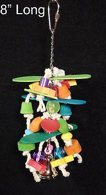 Tiki Whirl - Cockatiel Parakeet Parrotlet Lovebird Bird Toy. by Fowl Play