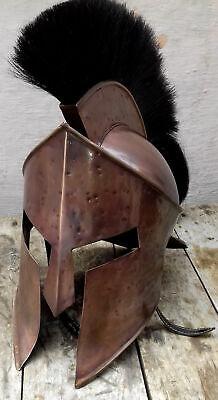 300 King Leonidas Spartan Helmet Warrior Costume Helmet Medieval Wearable