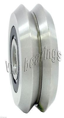 Rm2-2rs 38 Inch Hybrid Ceramic Zro2 V-groove Guide Sealed Ball Bearing Linear