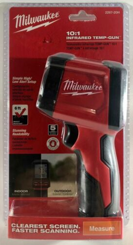 *NEW & SEALED* Milwaukee 10:1 Infrared Thermometer Temperature Gun - 2267-20H