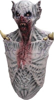 Halloween SUPER ZOMBIE Latex Deluxe Mask With Chest Costume Ghoulish Productions - Ghoulish Costumes Halloween