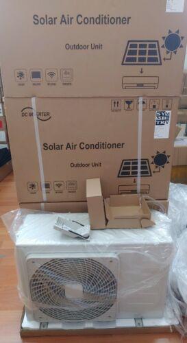US Seller 48VDC Solar 12000 BTU DC Inverter Split Heat Pump Off Grid PV system