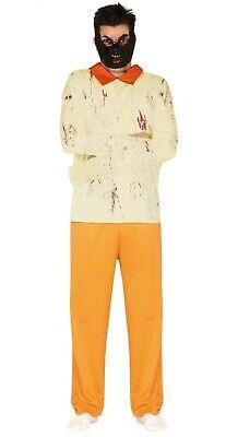 Herren Hannibal Lecter Halloween Kostüm Horror Gefangener Outfit - Gefangene Outfits