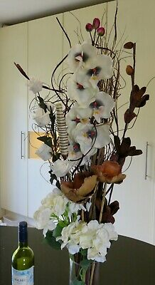 - White ORCHID & Roses  Flower Bouquet weddings conservatory