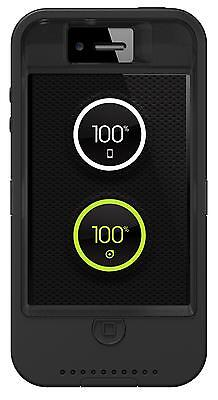 New Genuine OtterBox Case for Apple iPhone 4/4s w/ Ion Intelligence - Black