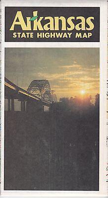 1982 Arkansas Highway  Road Map  *FREE US SHIPPING*