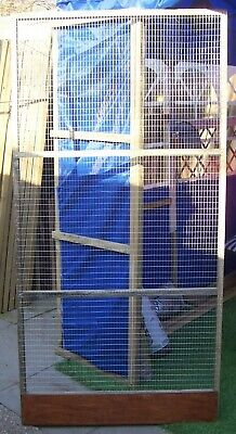 AVIARY PANELS 6' X 3' APPROX IDEAL TO MAKE BIRD AVIARY CATTERY/CATIO OR RUN