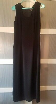 Banana Republic Long Black Dress Size 8