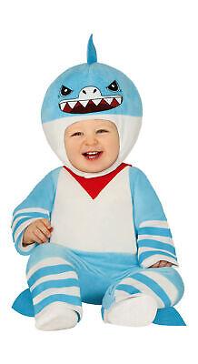 Hai Karneval Kostüm für Babys & Kleinkinder Gr. 74-92 - Babykostüm Tier