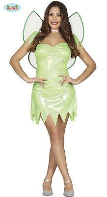 Costume Trilly campanellino fata verde Tg. 38-40 carnevale halloween donna 84544