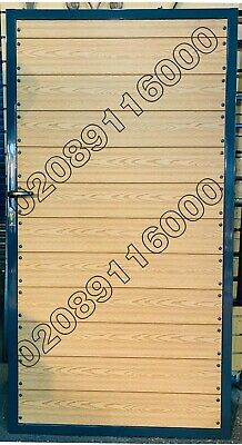 METAL GATE/ WOODEN GATE / TIMBER WOOD INFILL GATE, COMPOSITE WOOD GATE