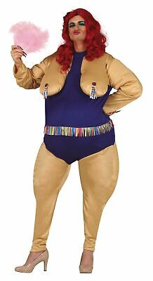 Mens Drag Queen Fancy Dress Costume Stag Party Funny Novelty (Large)