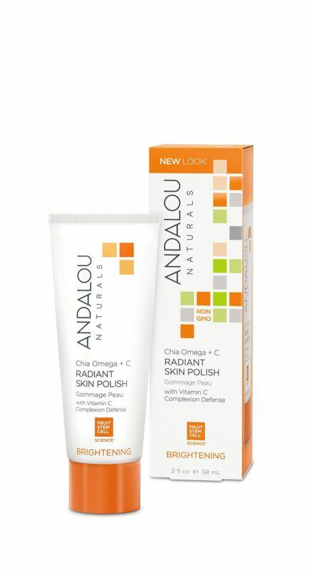 Andalou Naturals Chia Plus Omega Radiant Skin Polish, 2 Oz