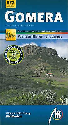GOMERA Wandern Michael Müller Wanderführer 09 Reiseführer Kanaren Insel La NEU