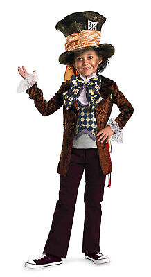 Alice in Wonderland - Mad Hatter Deluxe Child Costume (Mad Hatter Kids Costumes)