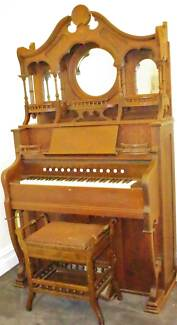 ANTIQUE CHURCH ORGAN CIRCA 1890S