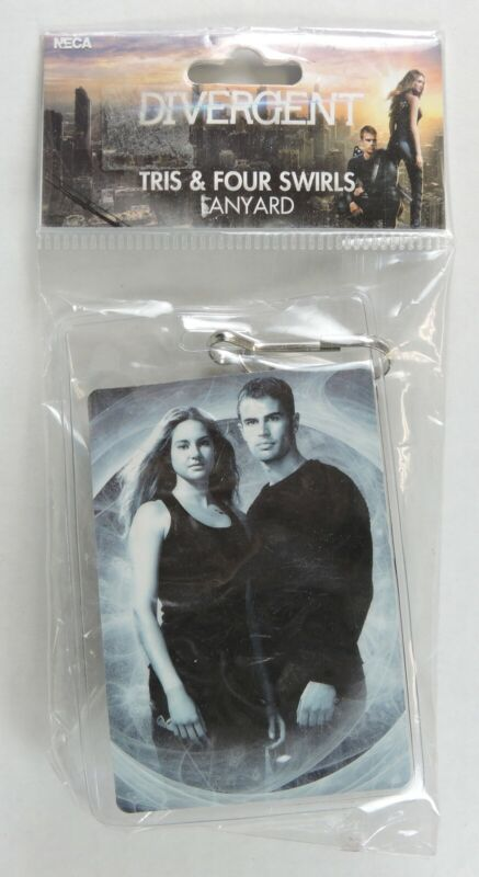 Divergent Tris & Four Swirls Lanyard with Badge Holder Dauntless New In package
