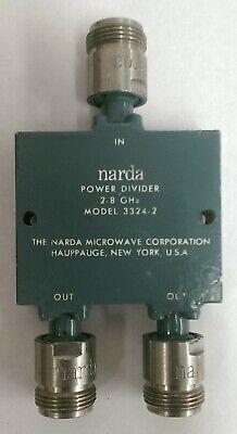 Narda Model 3324-2 Power Divider 2-8 Ghz