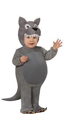 Baby Wolf - Kostüm für Kinder Größe 74-92 - Babykostüm Kleinkind Tier