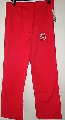 Red Gelscrubs Pant - GelScrubs Unisex Drawstring Pant w/ pocket university of north Carolina Sz Small
