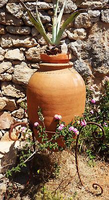 Garden Flower Vase Clay Vase Amphora Terracotta Vase Container Antique