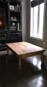 Rustic Mexican Pine Coffee Table