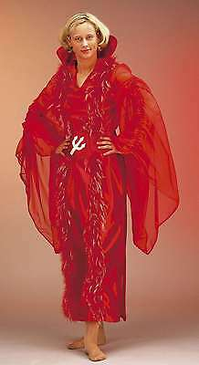Teufelsweib Kostüm Gr. 38-46 Teufelin Kleid Hexe Walpurgisnacht (Walpurgisnacht Kostüm)
