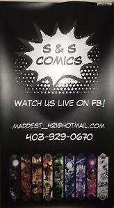 S &S comics live sales