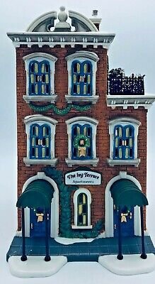 Department 56 Ivy Terrace Apartments Christmas In The City Series Heritage 58874