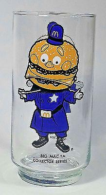 McDonald's Big Mac Drinking Glass Collector Series 15oz Tumbler