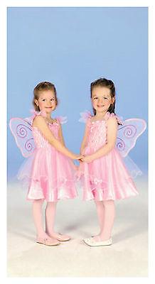 Ballerina Kind Kostüme (Fairy Butterfly Gr. 104-128 Fee Elfe Ballerina Mädchen Kind Kostüm Kinderkostüm)