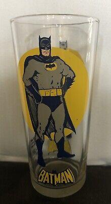 Original Vintage Character Glass Batman 1976