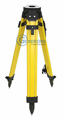 FIBERGLASS TRIPOD,FOR SURVEYING,TOTAL STATION,GPS,LASER LEVEL,TOPCON,TRIMBLE