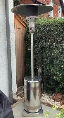 Star Progetti Helios Upright Gas Patio Heater 12 kw Stainless Steel