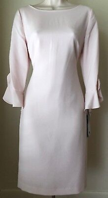 Karl Lagerfeld Paris Tulip Sleeve Shift Dress LD7E11Q3 NWT Size 2, 4, 6, (Tulip Sleeve Dress)