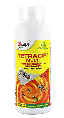 INSECTICIDE CONCENTRATE ZAPI TETRACIP MULTI FLIES E MOSQUITOES 1LT