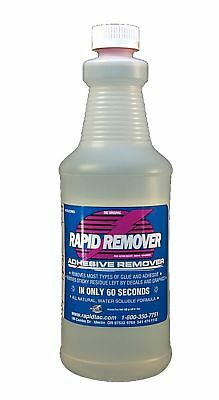 Rapid Remover Adhesive Remover For Vinyl Wraps Graphics Decals Stripes 32oz S...
