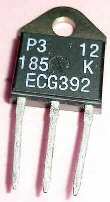 A New Nos Ecg392 Npn Transistor To-247. Other S Are Nte392 Tip3055