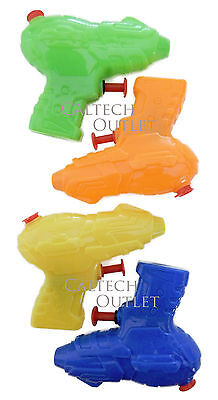 4 x Kids Toy Squirt Water Pistol Gun Super Streaming Shoots up to 20FT