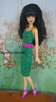 BARBIE FASHIONS Confetti Dress and Accessories