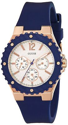 GUESS Rubber Ladies Blue Watch W0149L5