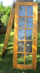 Solid Oak French Doors