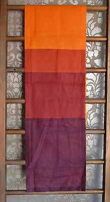 Red, Orange, Purple Alexander Turpault French Linen Table Runner 15.5