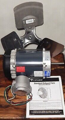 Canarm R-p1107-f 13hp Thermally Protected Explosion Proof Exhaust Fan 115230v