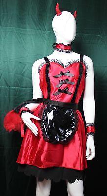 Kostüm Maid Hot - Dirty Little Devil von Deceptions by Disguise Größe 12 - 14