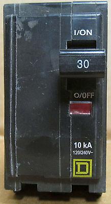Qob230 Square D 30 Amp 120240 Volt 2 Pole Bolt On New No Box