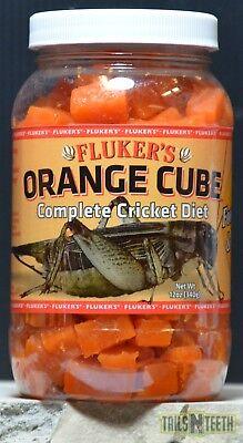 (Fluker's Orange Cube 340g - Complete Cricket Diet - Food, Water, Vitamins)